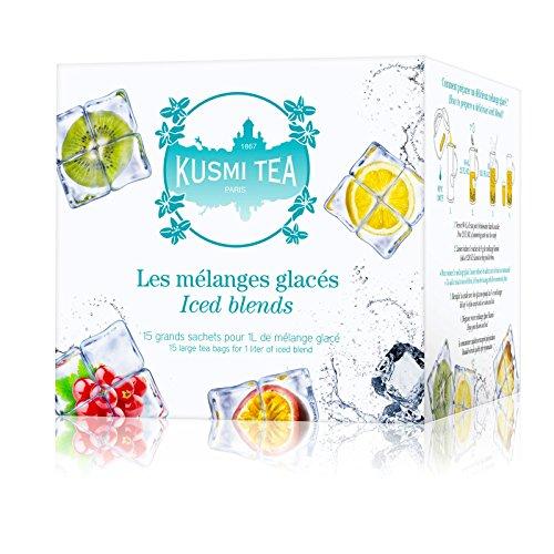 Kusmi Tea - Les Mélanges Glacés - assortiment de 15 sachets