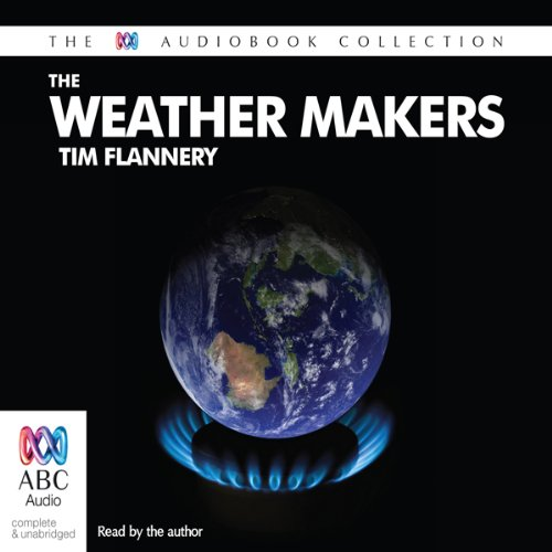 The Weather Makers audiobook cover art