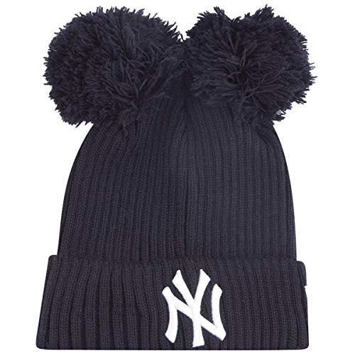 New Era Damen Wintermütze Double Bobble Beanie - NY Yankees