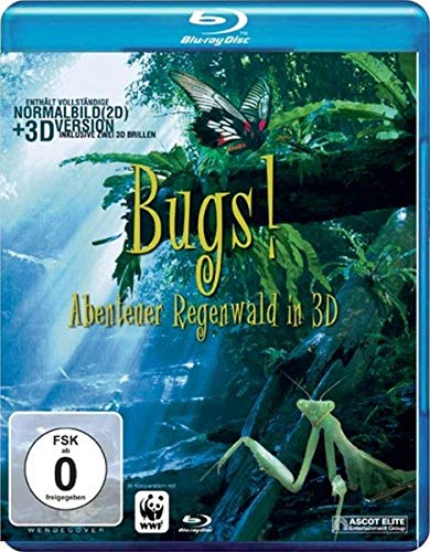 Bugs! Abenteuer Regenwald in 3D [Blu-ray]