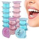 Collutorio portatile con gelatina, collutorio per la pulizia orale alla menta rosa, rinfre...