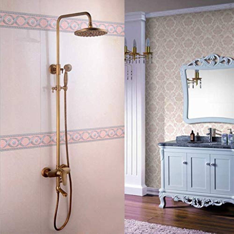 LHW Shower Set chset, Handbrause, Elevating Dusche, Bad, WC Duschkopf, Space Aluminium Duschkopf, Square Third Getriebe Duschkopf