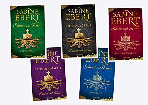 Schwert und Krone Reihe von Sabine Ebert (Knaur Verlag)