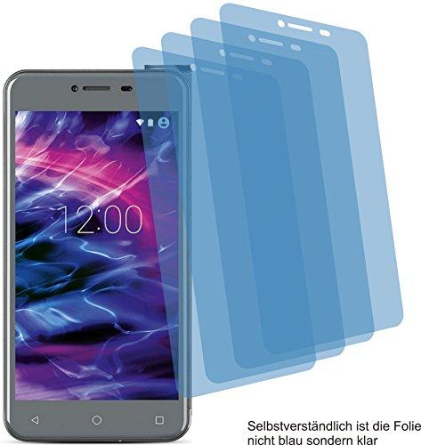 4ProTec I 4X Crystal Clear klar Schutzfolie für Medion Life E5008 Bildschirmschutzfolie Displayschutzfolie Schutzhülle Bildschirmschutz Bildschirmfolie Folie