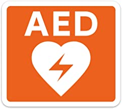 AED専門店クオリティー AED 自動体外式除細動器 設置ステッカー AED 設置シール 1601【屋外・屋内両用】