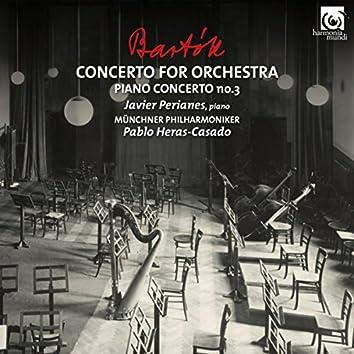 Bartók: Concerto for Orchestra & Piano Concerto No. 3