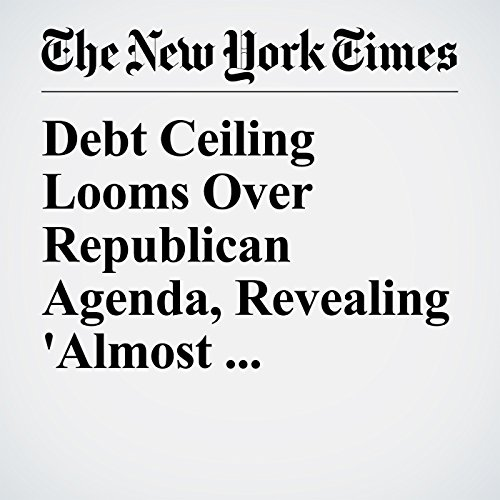 Debt Ceiling Looms Over Republican Agenda, Revealing 'Almost Theological' Fissures copertina