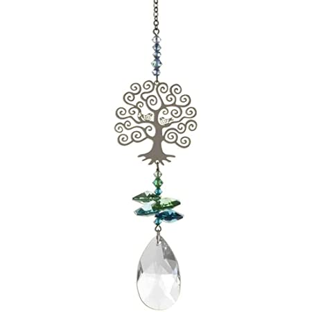 Wild Things Gifts Thank You NHS Inspired Limited Edition Crystal Fantasy Hanging Rainbow Sun-catcher Embellished with Branded Crystals