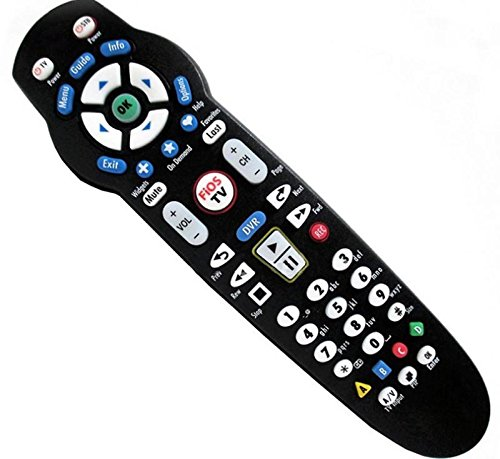 Replacement 2-Device Remote Control Fit for Verizon Fios TV STB Works with Verizon FiOS Systems