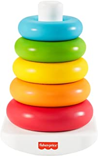Fisher-Price Pila de Aritos Eco Juguete para bebés de 6 Meses en adelante