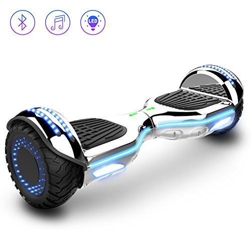 2WD Hoverboard 6.5 '' Scooter eléctrico Las Ruedas LED Luces Self Balance...