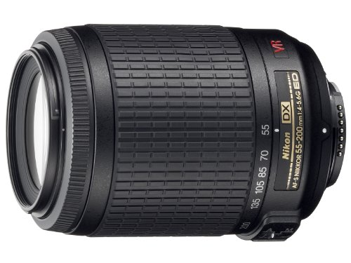 Nikon AF-S DX VR 55-200mm F4-5.6 G - Objetivo para Nikon (Distancia Focal 55-200mm,...