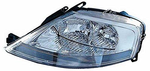 Para faros delanteros luz linterna frontal derecho h1-h7ajustable eléctricamente Citroen C3desde 04/2002hasta 10/2009
