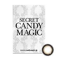 Secret Candymagic monthly シークレット キャンディー マジック マンスリー 【カラー】シマーブラウン 【PWR】-4.75 1枚入 1箱
