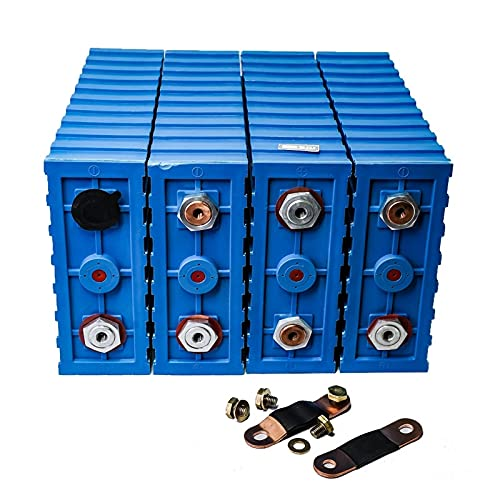 LeiQuanQuan 8pcs 3.2v 200ah LIFEPO4 Batería de la batería Lithium Fosfa DIY...