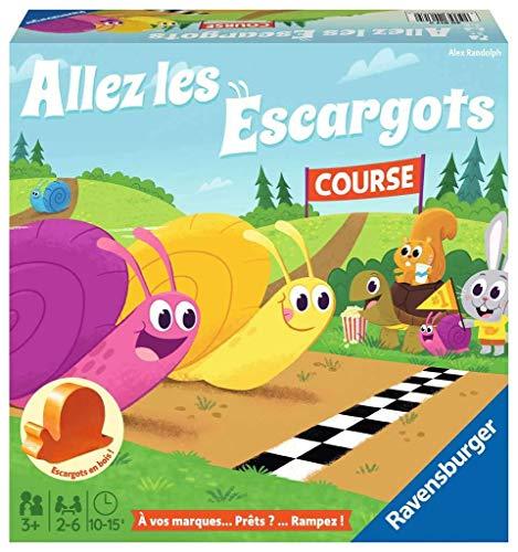 Ravensburger- Allez Les escargots - Premier Jeu de société pour Enfants - Jeu en Bois - Dès 3 Ans...