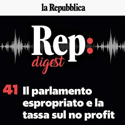 Il Parlamento espropriato e la tassa sul no profit copertina