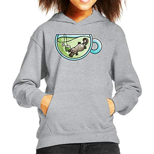Cloud City 7 Plateapus Platypus Thee Pun Kid's Hooded Sweatshirt