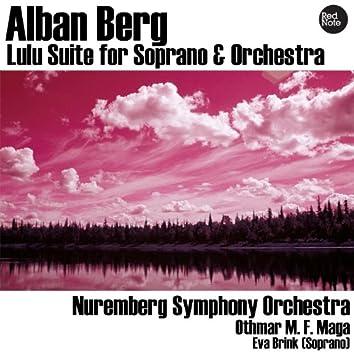 Alban Berg: Lulu Suite for Soprano & Orchestra