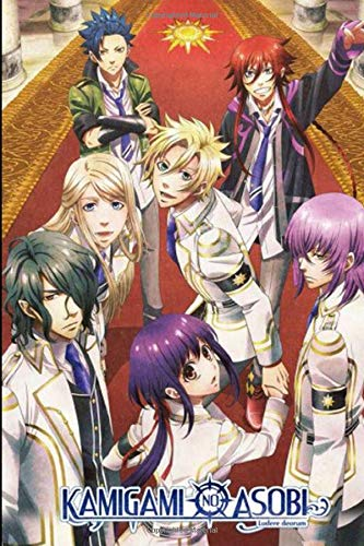 KAMIGAMI NO ASOBI: Anime School Boy, Blank Lined Journal Notebook, Perfect Gift For Boy, Girl, Otaku & Anime Lovers