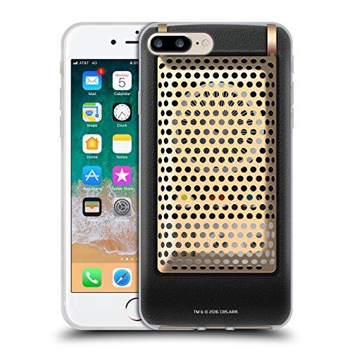 Head Case Designs Offizielle Star Trek Kommunikator Geschlossen Gadgets Soft Gel Huelle kompatibel mit iPhone 7 Plus/iPhone 8 Plus
