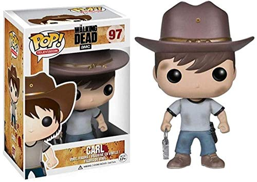 TIANXIAWUDI The Walking Dead Height - Carl Grimes Pop Figure Shape Television Collection 10CM Toys