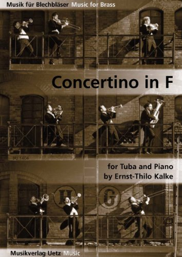 Concertino in F For Tuba and Piano / für Tuba und Klavier (Spielpartitur und Solostimme)