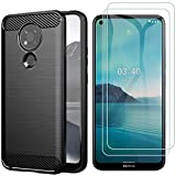 AOYIY For Nokia 3.4 Case with Screen Protector, Soft Slim