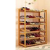 ALIPC Bambou Multicouches Étagère à Chaussures,Simple Dustproofable Stockage De Chaussures Épaississement De Bois Solide...