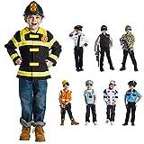 Viste a América - 832 - El Jefe de policía Set - Edad 3-6 años - One Size - Niños 3-6 años