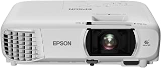 Epson EH-TW750 3LCD, Full HD, 3400 Lumens, 300 Inch Display, Wi-Fi Miracast, Home Cinema Projector - White