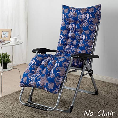 XFXDBT Overstuffed Bankauflage Verdicken Rocking Chair Pad Hochlehner Eins-stück Stuhl Pad Nicht-Slip Rattan Stuhl Kissen Für Indoor Outdoor-B 120x48cm