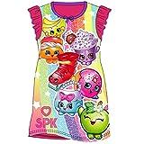 Girls Nightie Nightdress Character Disney Cartoon Shopkins 3-4Years