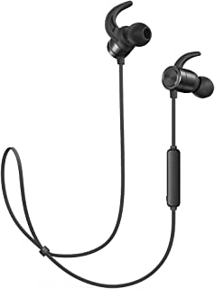 Wireless Headphones TaoTronics Bluetooth Earphones Sport Earbuds in Ear Headset Sweatproof for Running (9 Hours Playtime, Bluetooth 4.2, IPX6, Magnetic, Noise Cancelling Mic)