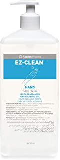 EZ CLEAN Hand Sanitizer GEL CUB. BOTTLE LEMON 1000ML