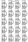 Beer Logbook: Brewing Journal Record Home Brew Recipes Beer Tasting Notebook