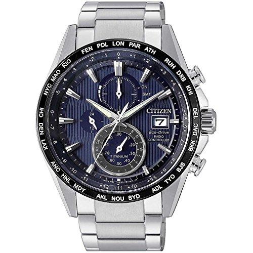 Citizen H800Funk-Armbanduhr aus Super-Titan, Artikelnummer: AT8154-82L
