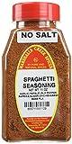 Marshalls Creek Spice Co. Spaghetti Seasoning, No Salt, 11 Ounce