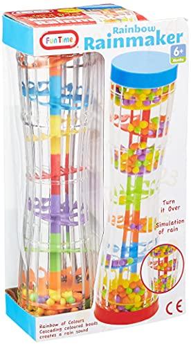 Funtime- Juguete Rainbow Rainmaker, 23 cm (Fun Time 55914)
