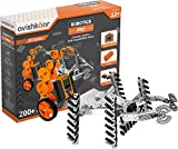 Included components : 70+ parts including metal parts, motors, wheels, gears, sensors nuts & bolts, allen key, cables, manual & programmable brain, Ages : 12 years and above Make over 200+ robots, Learn intermediate robotics with mechanical design, p...