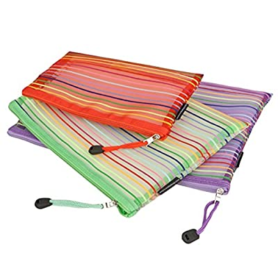 Travelon Set of 3 mesh Pouches, Multicolor
