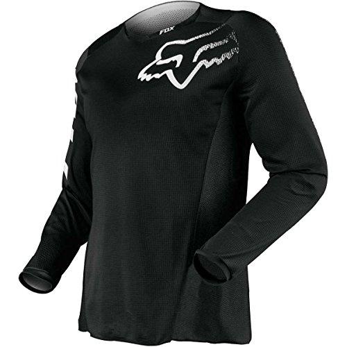 Fox Racing Herren Blackout Jersey Verdunklungs-Trikot, schwarz, Medium