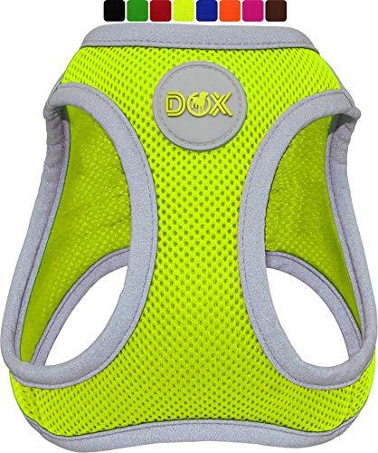 DDOXX Arnés Perro Step-In Air Mesh, Ajustable, Reflectante, Acolchado | Muchos Colores &...