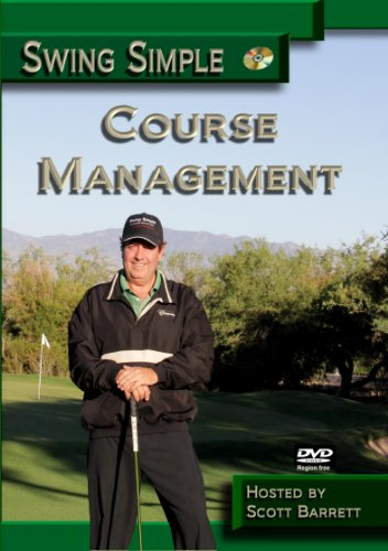 (New for 2017) Scott Barrett Course Management Golf Instruction DVD