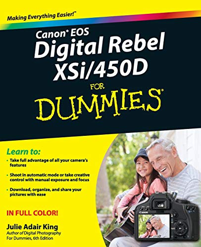 Price comparison product image Canon EOS Digital Rebel XSi / 450D For Dummies