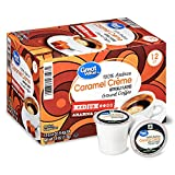 Great Value 100% Arabica Caramel Crème Coffee Pods, Medium Roast, 12 Count- 0.37 each (Pack of 4)