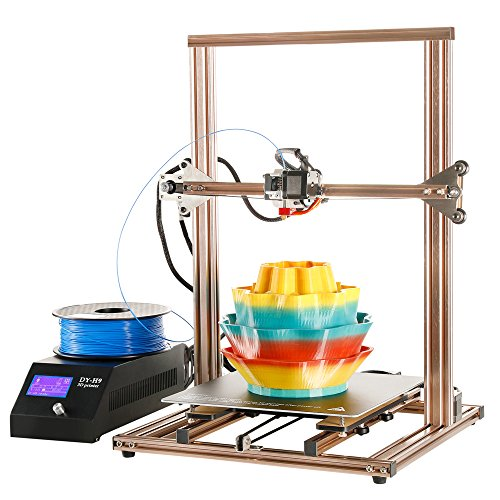 3D Printer DIY Kit Full Aluminum Large Printing Size 300x300x400mm with Heated Build Plate