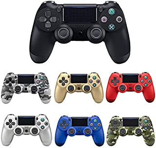WAAH Bluetooth Wireless/Wired Joystick for PS4 Controller Fit for Mando ps4 Console for Playstation Dualshock 4 Gamepad fo...