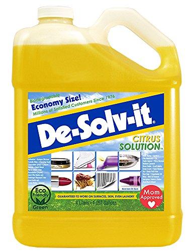 De-Solv-it! 10362 Orange Sol Citrus Solution Container, 1 Gallon