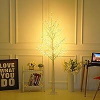 Bolylight LED Birch Tree 6ft 480L LED Christmas Decorations Lighted Tree Decor